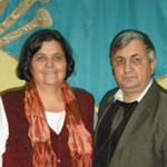 Pastorul Gheorghe și Maria Preda