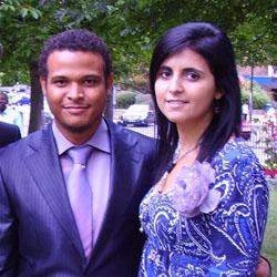 Jinaidu and Anca Musa (Volunteer Members)
